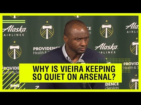 What is Patrick Vieira hiding?