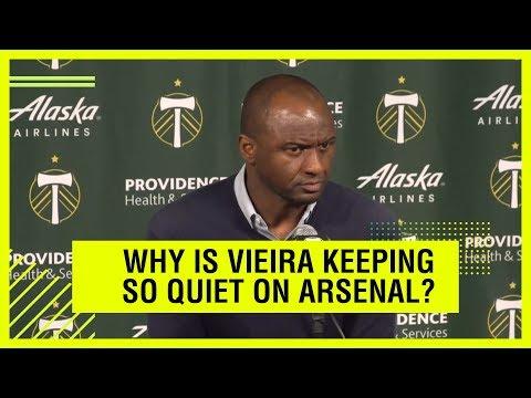What is Patrick Vieira hiding?