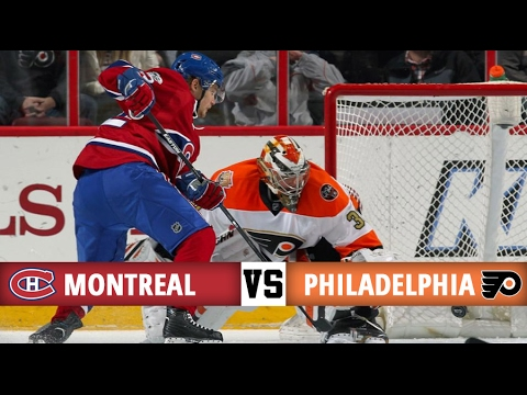 Montreal Canadiens vs Philadephia Flyers   Season Game 52   Highlights (2/2/17)
