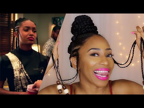 HOW TO | Yara Shahidi Inspired Protective Braid Style