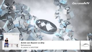 Скачать Armin Van Buuren Vs Arty Nehalennia As Played On ASOT 598