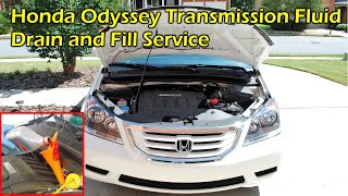 Automatic Transmission Fluid (ATF) Drain and Fill - Honda Odyssey (2007 - 2010)