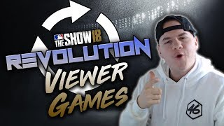 REVOLUTION Viewer Games! MLB The Show 18 Diamond Dynasty