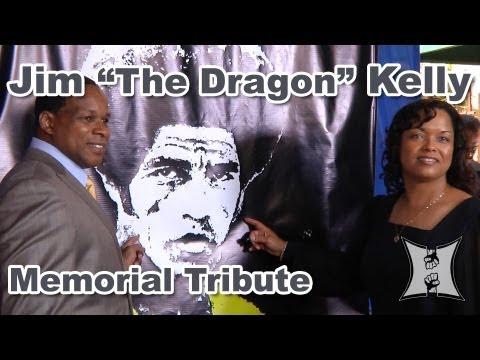"Memorial Tribute to Jim ""The Dragon"" Kelly, Co-Star of Bruce Lee's ""Enter The Dragon"""