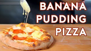 Binging with Babish: Banana Pudding Pizza from Doug