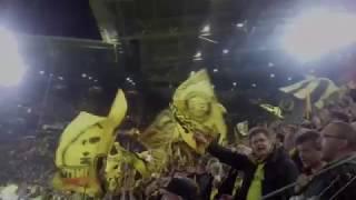 Borussia Dortmund- Atletico Madrid 4:0 Champions League Südtribüne