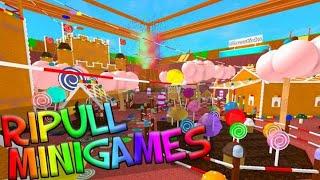 Ripull Mini Gamesroblox На русском Регина Play