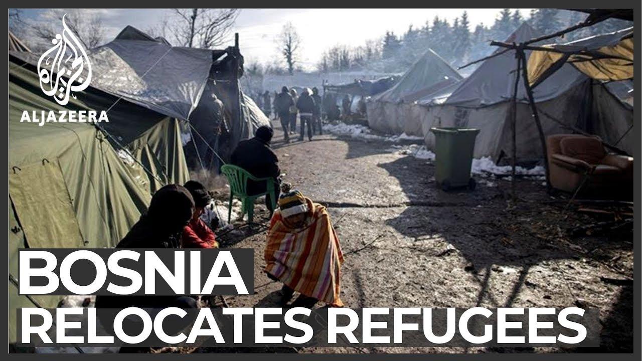 Bosnia shuts down controversial camp, transfers migrants