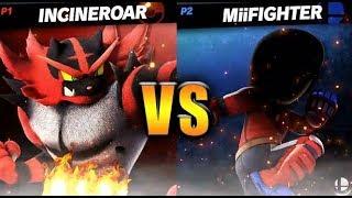 Incineroar vs MiiFighter