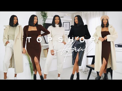 6 WINTER OUTFITS | TOPSHOP HAUL *BLACK FRIDAY SALES* | NOORIE ANA | AD