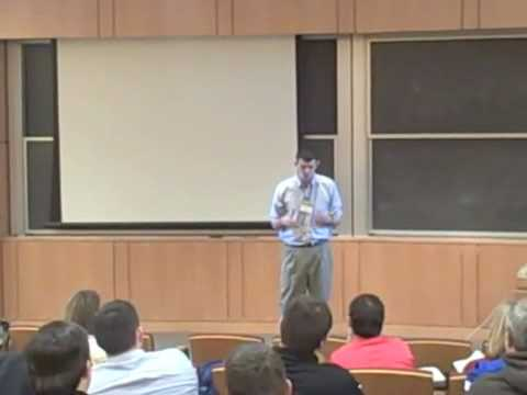 John Leekley speaking at Lightningtalks 2010 part 2