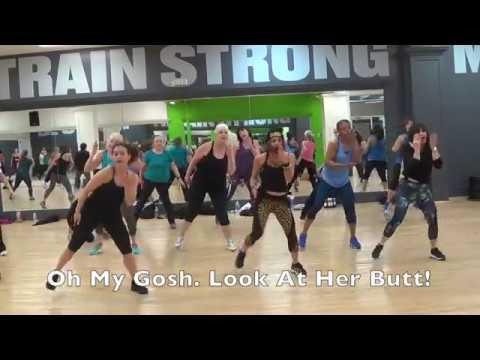Booty Warm Up by DJ Francis Zumba Fitness Choreography.