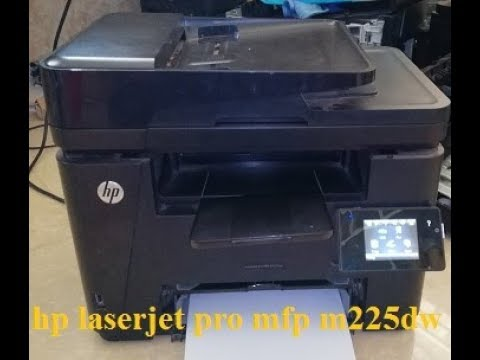How To Fix Scan For Printer Hp Laserjet Pro Mfp M225dw Youtube