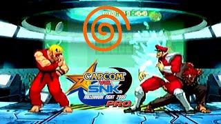 Capcom Vs. SNK Pro playthrough (Dreamcast)