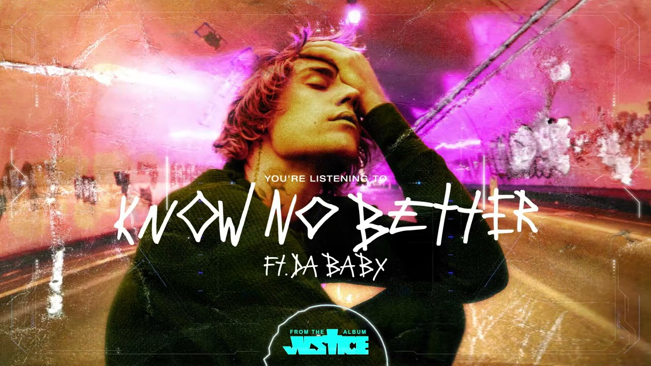 Justin Bieber - Know No Better (Visualizer) ft. Da Baby