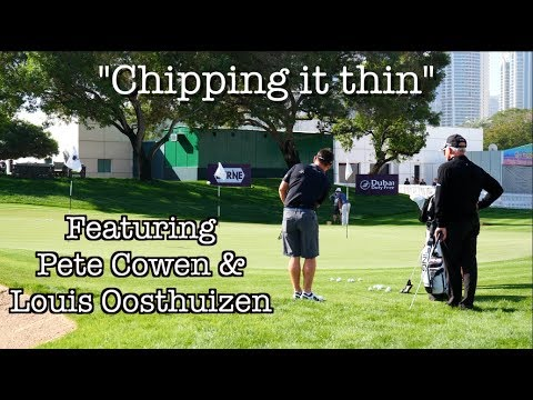 """Chipping it thin""| Pete Cowen & Stephen Deane cure Oosthuizen's issue"