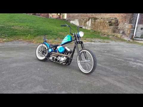 89 Sporty Chop Chopper Bobber Hardtail Sportster