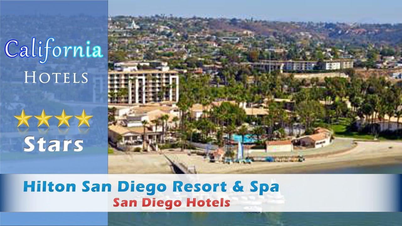 Hilton san diego resort spa san diego hotels for A salon san diego