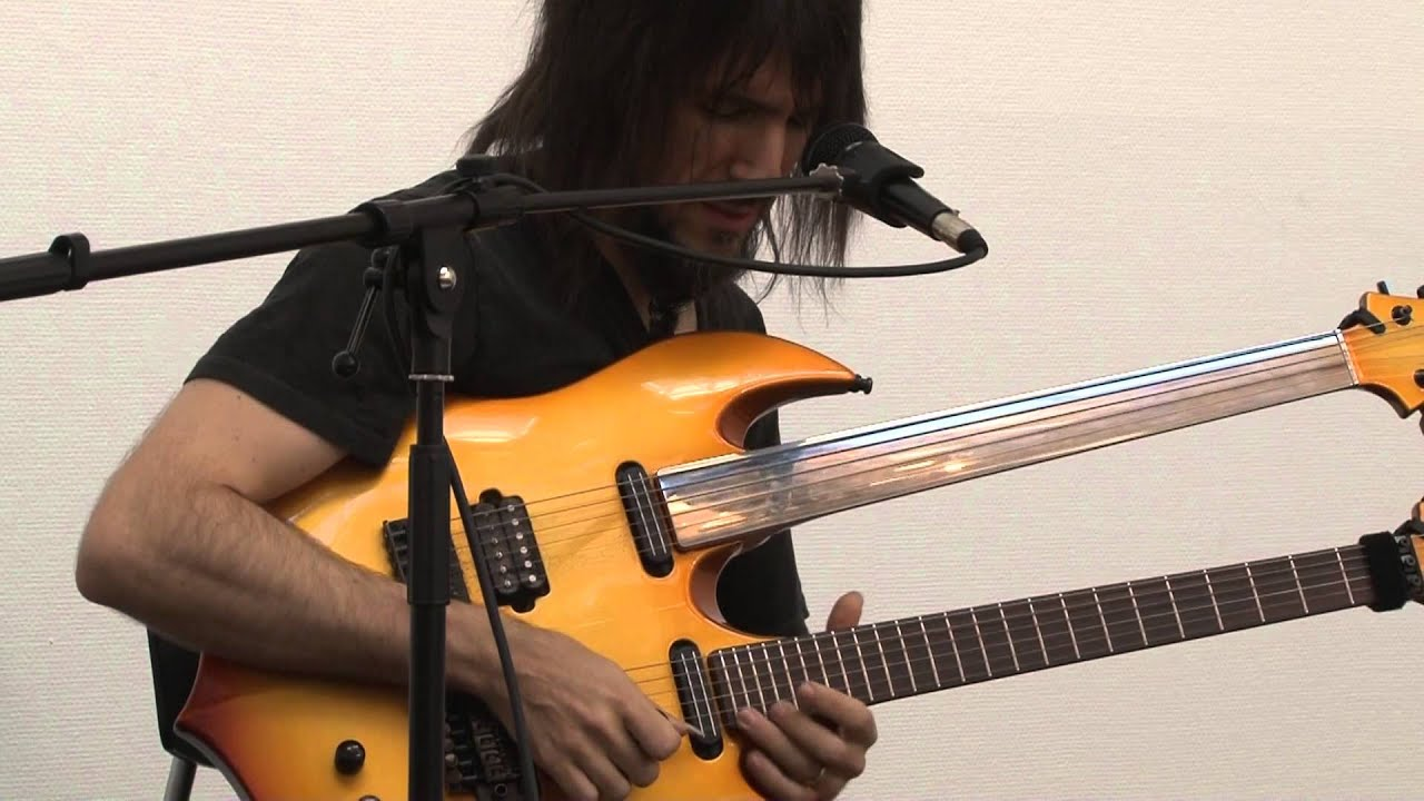 guns n 39 roses guitarist ron thal aka bumblefoot clinic at copenhagen guitar show 2013 youtube. Black Bedroom Furniture Sets. Home Design Ideas