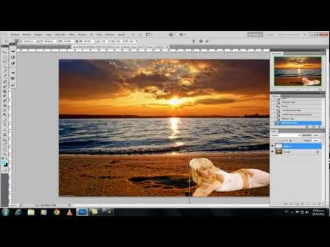 Cambiar el fondo de una foto en photoshop cs5 42