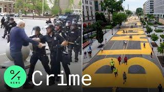 LIVE: Buffalo Police Resign in Defense of Cops Who Shoved Man; D.C. Unveils Black Lives Matter Sign