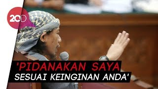 Download Video Aman Abdurrahman: Silakan Hukum Mati Saya! MP3 3GP MP4
