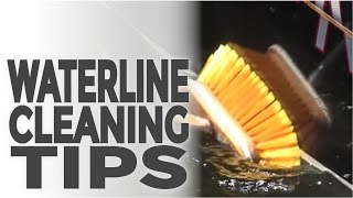 Keep your waterline clean and free from permeant staining.