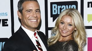 Andy Cohen Throws Support Behind Kelly Ripa Amidst 'LIVE!' Drama With Michael Strahan