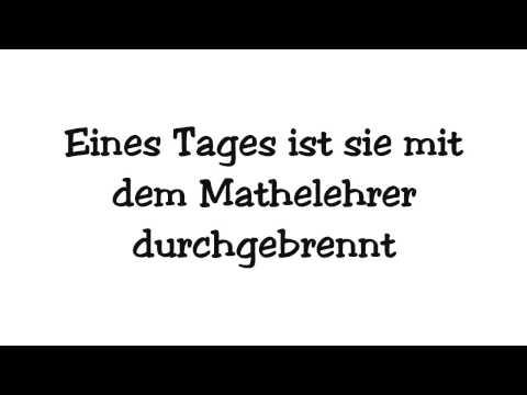 Wise Guys - Meine Deutschlehrerin | Lyrics