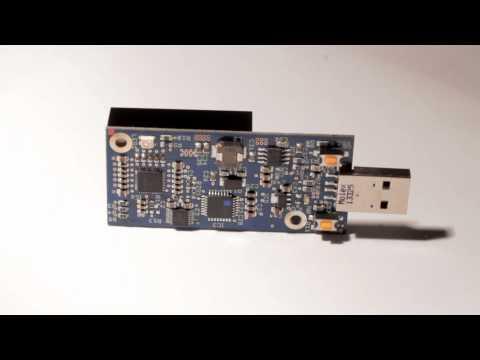 Blue Fury Bitcoin USB ASIC Miner By BitFury