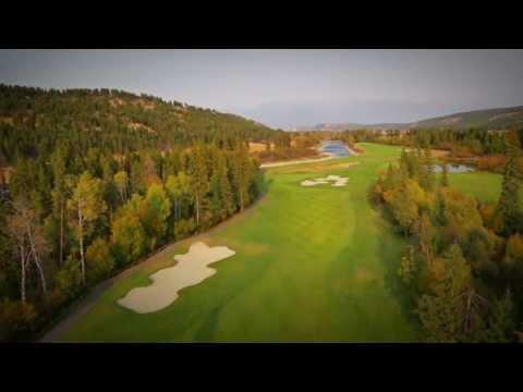 Golfing Kimberley, BC