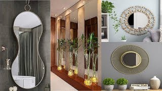 Wall Mirror Decorating Ideas ! Mirror On The Wall For Wall Decor