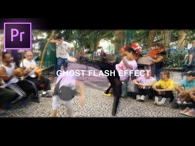 Adobe Premiere Pro CC Tutorial: Flash Frame Ghost Effect (How to)