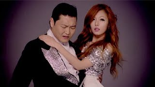 Cover images PSY (ft. HYUNA) - 오빤 딱 내 스타일 M/V