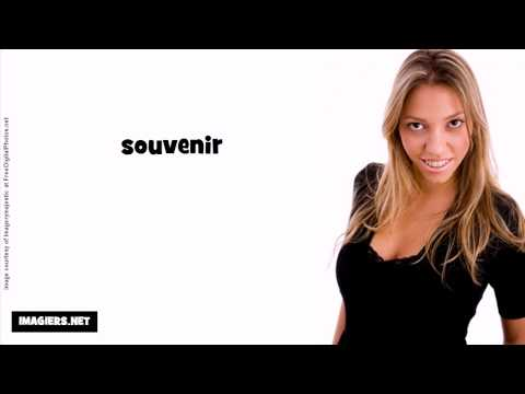 French pronunciation = souvenir