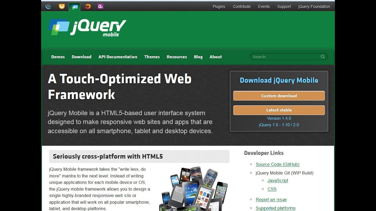 Jquery mobile part 1 login page youtube for Jquery mobile login template