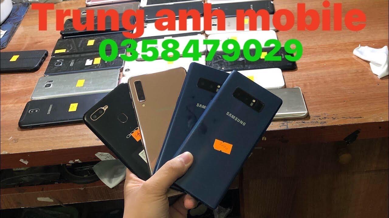 Xả hàng samsung s8 plus,note8,A7,not5,iphone7 128gb,oppo a5s giá chỉ từ 800k lh 0358479029!!!