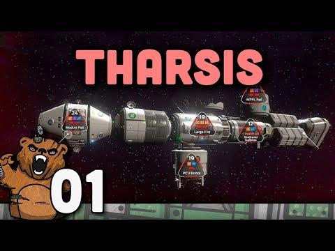 Desastre na missão pra marte!  Tharsis  Gameplay Português PTBR