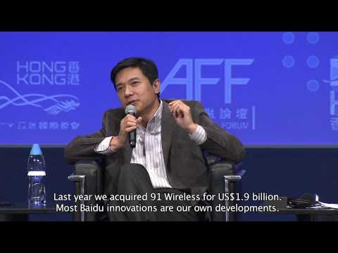 Baidu's Robin Li on acquisitions - YouTube