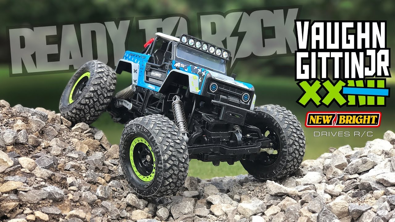 small resolution of new bright 1 15 r c vaughn gittin jr ford bronco rock crawler brocky demo 1