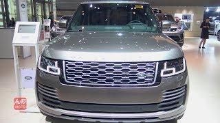 2019 Range Rover LWB Autobiography P400e Plug-in Hybrid - Exterior Interior Walkaround - 2018 Paris
