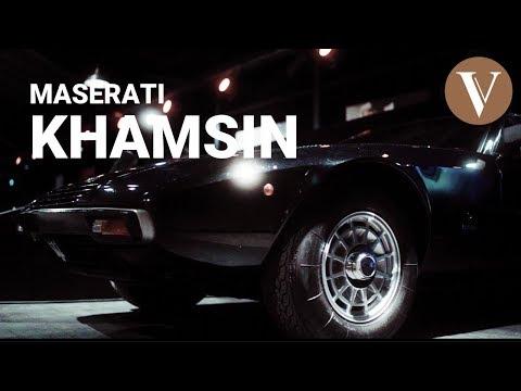 Maserati Khamsin - Benannt Nach Einem ägyptischen Wüstenwind