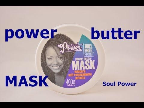 Máscara Power Butter - Soul Power (anti-ressecamento)