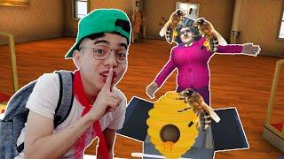 ThắnG Tê Tê Troll Cô Giáo Nhét Tổ Ong Vào Trong Hộp Quà   Scary Teacher 3D