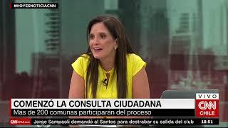 """Alcalde de Huechuraba y consulta ciudadana: """"Estamos suministrando datos objetivos"""""""