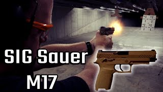 SIG Sauer M17 REVIEW! US Army Gun