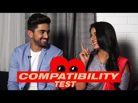 Naamkarann actors Zain Imam and Aditi Rathore take the compatibility test thumbnail