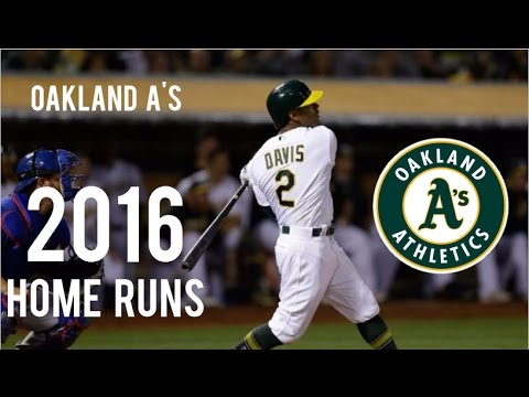 Oakland Athletics | 2016 Home Runs (169)