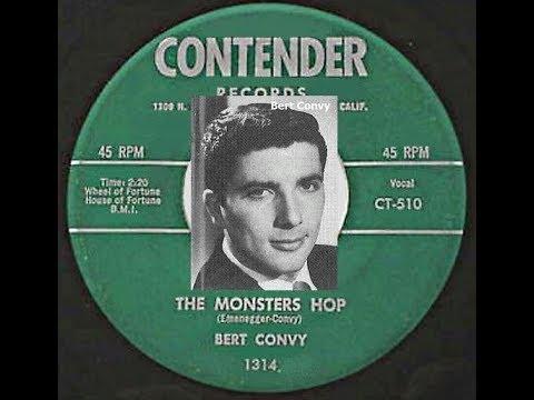 The Monsters Hop ~ Bert Convy (1958) (Halloween Oldie)