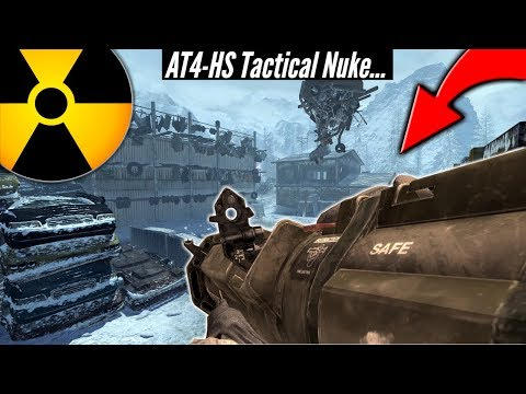 AT4 Rocket Launcher Tactical Nuke Challenge! (MW2)